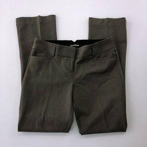 Express 30W Drak Gray Straight Dress Pants